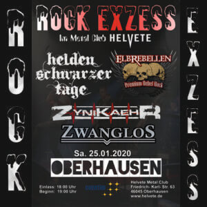 ROCK EXZESS @ Helvete Metal Club